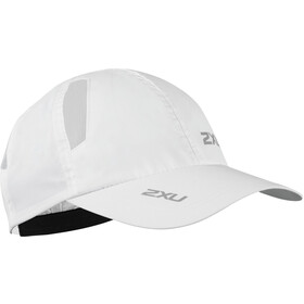 2XU Run Berretto, white/white